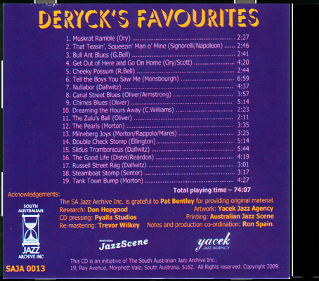 013 Dereck's Favourites_Back