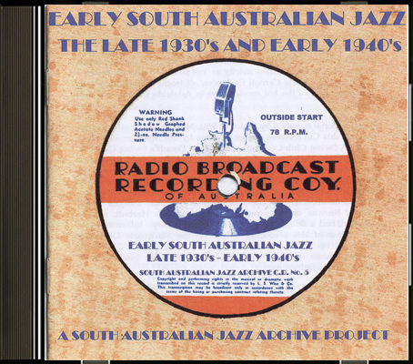 05 Early South Australian Jazz