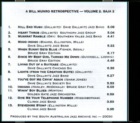 02 Bill Munro Vol 2_Back