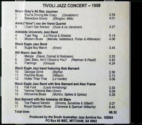 03_Tivoli Jazz Concert 1958_Back