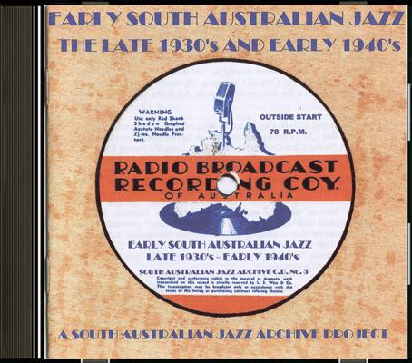 05 Early South Australian Jazz