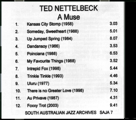 07_Ted Nettelbeck-A Muse_Back